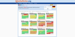 Feriendichte in Deutschland