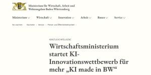 KI-Innovationswettbewerb KI