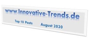 Top 10 Beiträge im August 2020