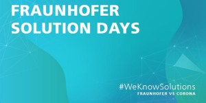 Fraunhofer Solution Days 2020