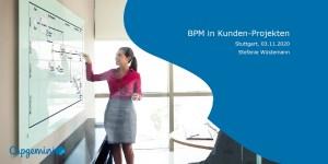 Gastvortrag von Capgemini: BPM in Kundenprojekten