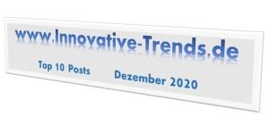 Top 10 Beiträge im Dezember 2020