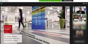 Digitalisierung in der Praxis: Dr. Oliver Kelkar (MHP) zu Gast an der HFT Stuttgart