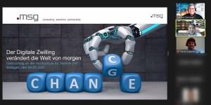 msg zu Gast an der HFT Stuttgart mit dem Thema Digital Twin