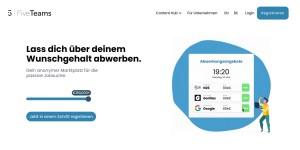 FiveTeams - Anonymer Marktplatz für die passive Jobsuche