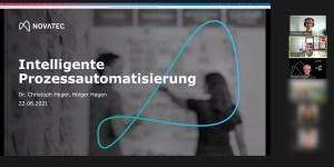 Intelligente Prozessautomatisierung - Gastvortrag von Novatec an der HFT Stuttgart