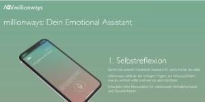 millionways - Dein Emotional Assistant