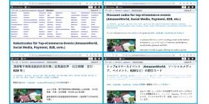 Innovative Trends in verschiedenen Sprachen (Deutsch, Englisch, traditionelles Chinesisch, Japanisch)