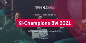 KI-Champions BW 2021 Preisverleihung