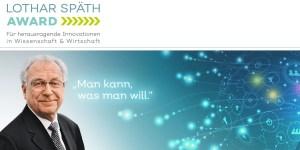 Lothar Späth Award 2021