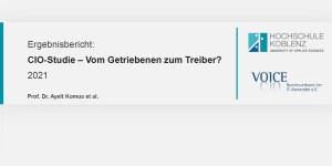 CIO-Studie 2021 der HS Koblenz und VOICE e.V.