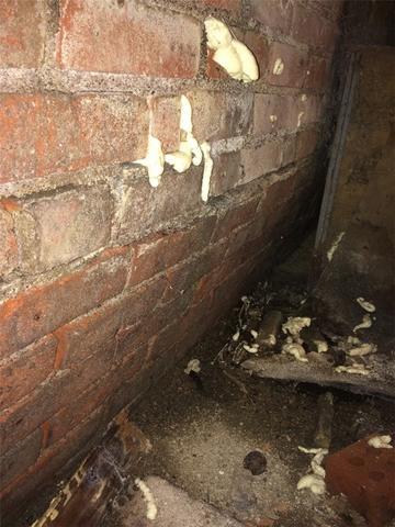 bowing brick wall