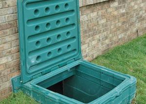 lockable crawl space access door installed in Fargo