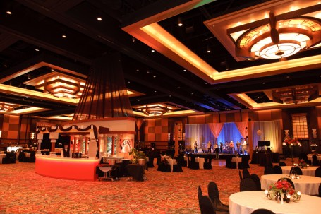 A stunning setup for a corporate event