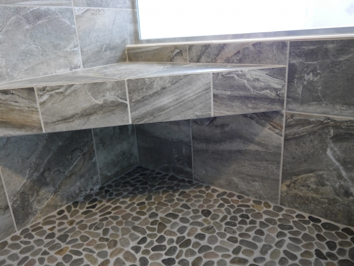 Shower Pans  Benches