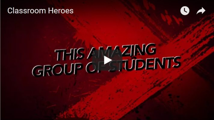 Video of students which can be used as inspiration for the magic mirror novel writing prompts - Classroom Superheroes