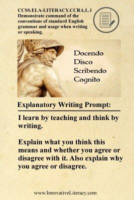 Innovative Literacy - What does Latin saying mean to you?