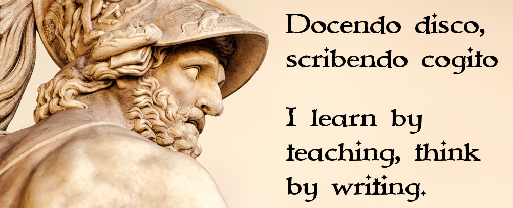 Latin and Greek root word videos I learn by teaching, think by writing.