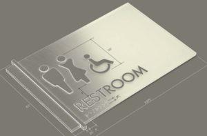 ADA Indoor Sign