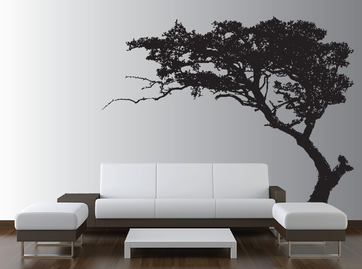 large tree wall decal living room decor 1130