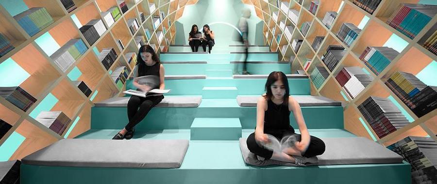 bibliotheque de monterrey mexique