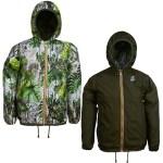 Cette veste réversible permet 2 styles différents en fonction de vos envies.
