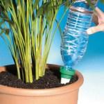 Le diffuseur d'eau est muni d'un embout conique micro-poreux pour ralentir et maîtriser le débit d'arrosage.
