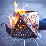 Le BBQ Focano est segmenté en plusieurs parties triangulaires démontables = facilité de stockage.