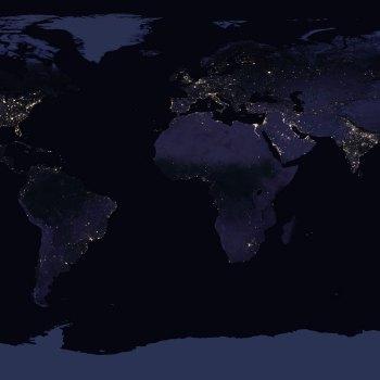 Earth At Night (Photo:NASA Earth Observatory/NASA GSFC)