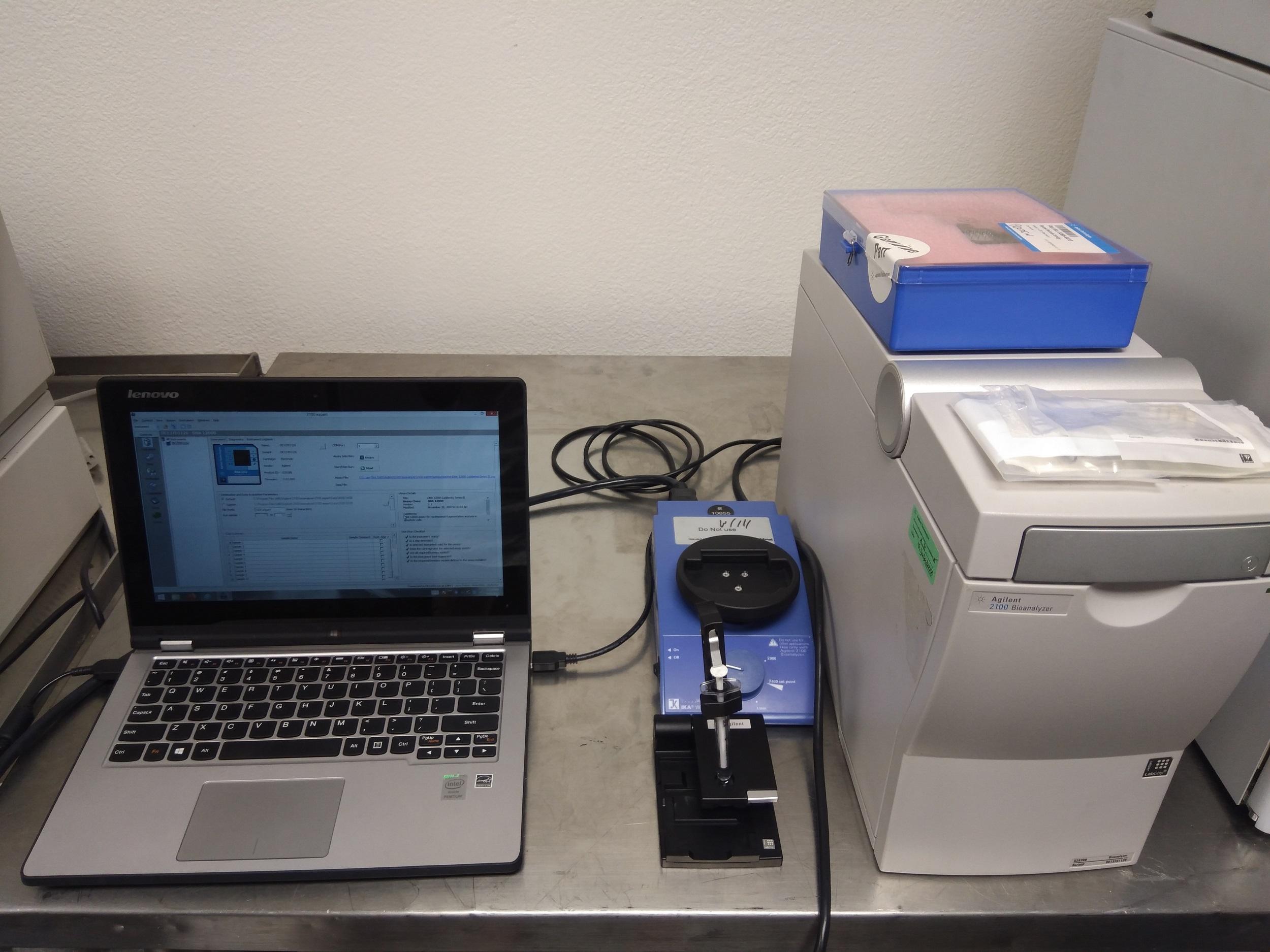 Agilent 2100 Bioanalyzer G2938B System - Innovtrendlab San Diego