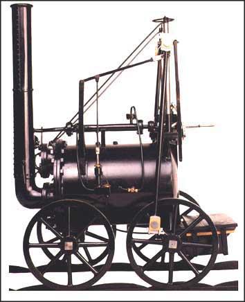 Locomotive (High-Pressure Steam Engine)