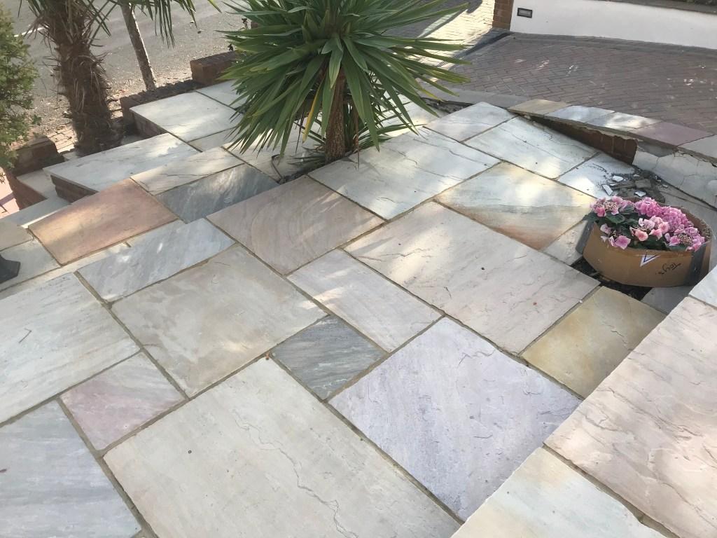 patio black spot removal