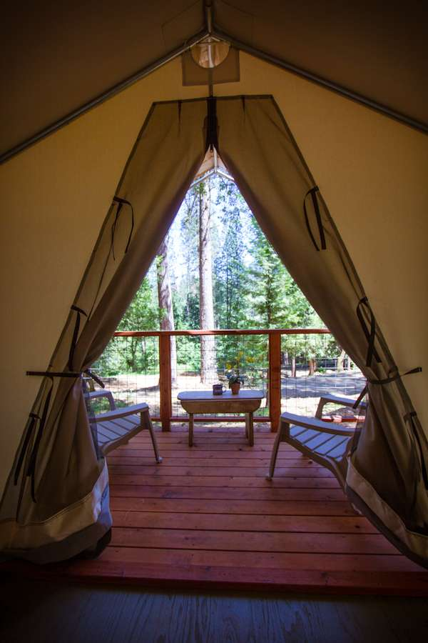 Glamping Tent 14  Inn Town Campground