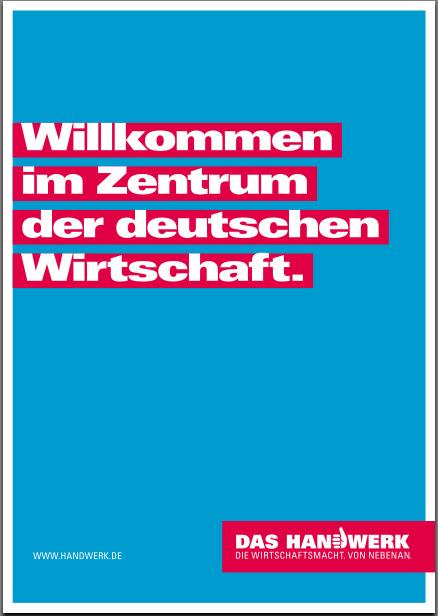 DAS HANDWERKDIE WIRTSCHAFTSMACHTVON NEBENAN  Berliner