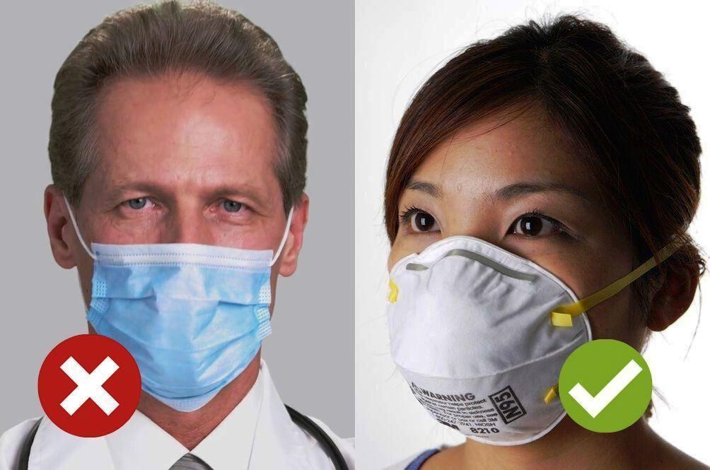 Koronavirus a ochranné pomůcky, rozdíl mezi rouškou a respirátorem