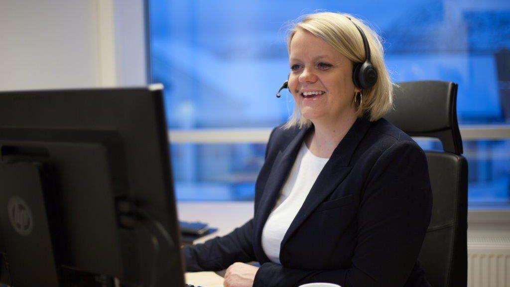 Marthe Hov Jacobsen, markedssjef i Trollfjord