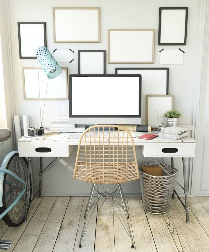 How to create a home office out of a spare room  In Order