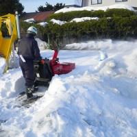 ロータリー除雪機