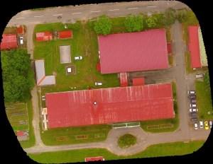 小学校校舎屋根