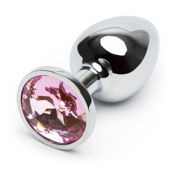 Lovehoney Jeweled Metal Beginner's Butt Plug 2.5 Inch