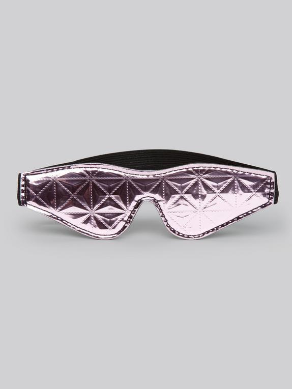 Bondage Boutique Metallic Pink Blindfold