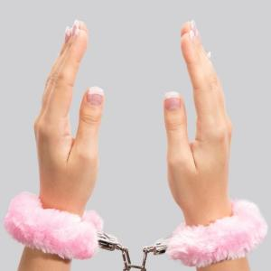 Bondage Boutique Pink Furry Handcuffs