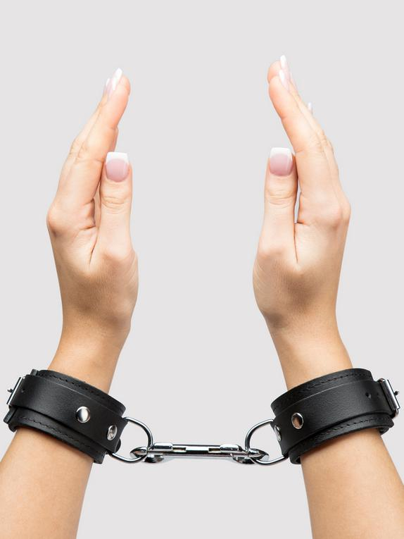Bondage Boutique Soft Leather Handcuffs