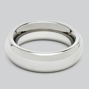DOMINIX Deluxe 1.75 Inch Stainless Steel Donut Cock Ring