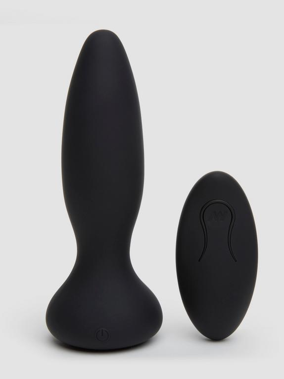 Doc Johnson A-Play Vibrating Remote Control Butt Plug 4 Inch