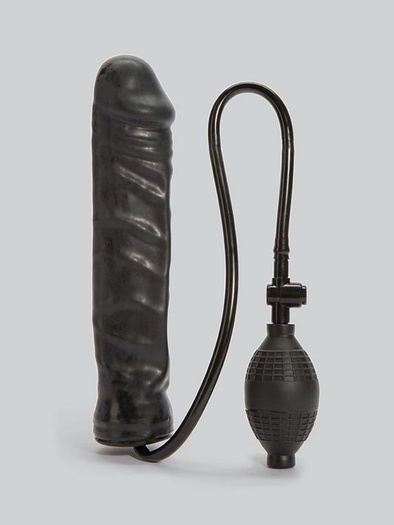 Inflatable Stud Dildo 9.5 Inch