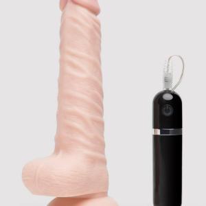 Lifelike Lover Classic Realistic Rotating Dildo Vibrator 8 Inch