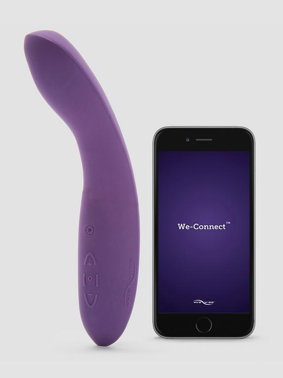 We-Vibe Rave Rechargeable App Controlled G-Spot Vibrator