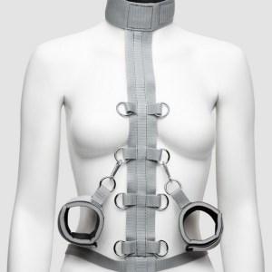 Silver Seduction Body Harness Restraint