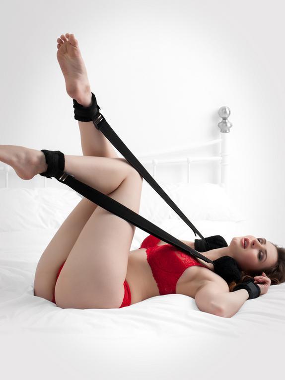 Bondage Boutique Plush Sex Position Restraint with Cuffs